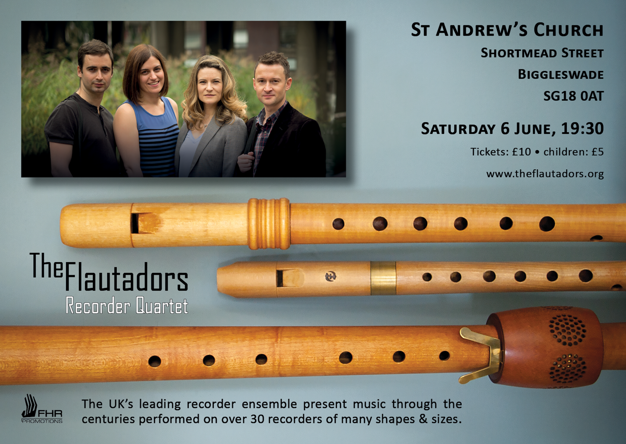 Concert: St Andrew's Chuch, SG18 0AT, 2015-06-06 19:30